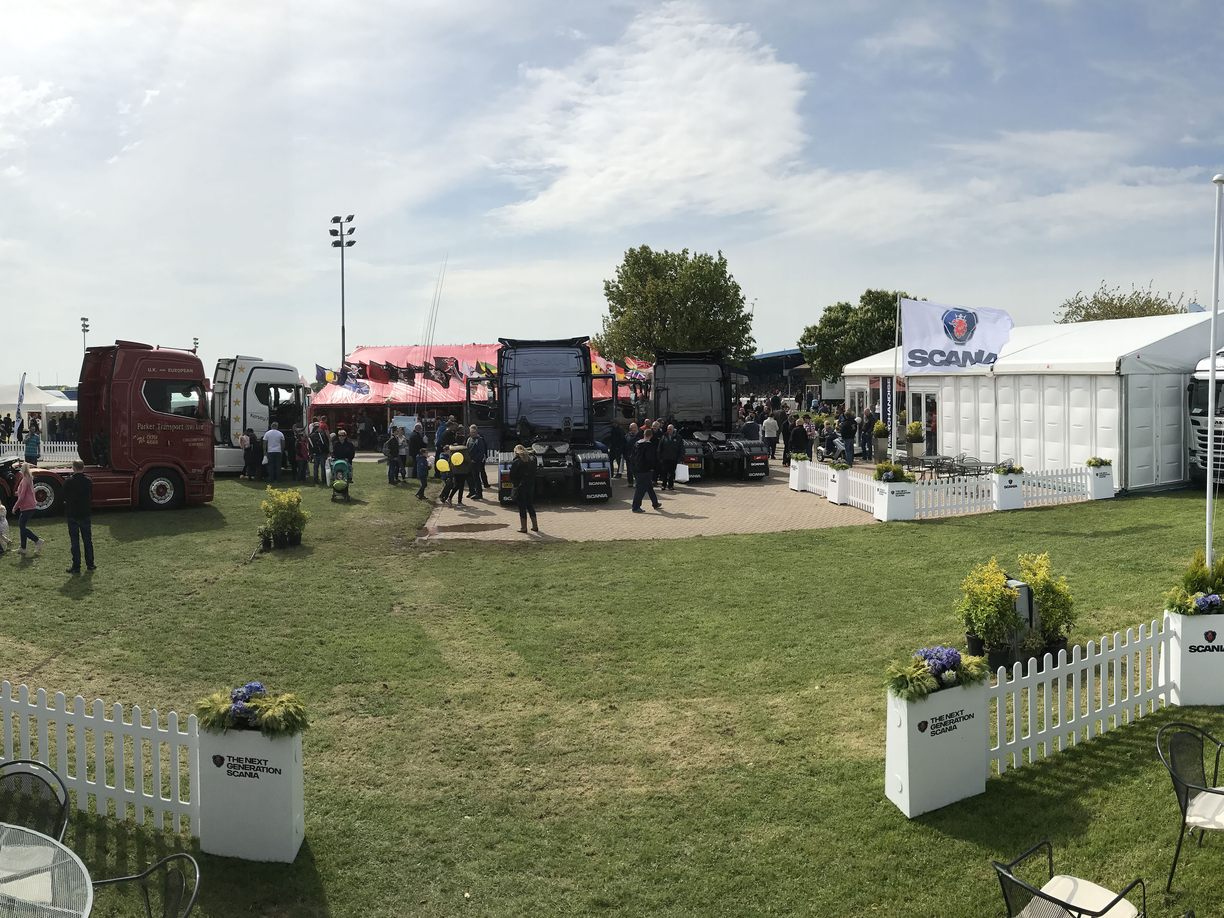 Come and join Scania at TruckFest Peterborough