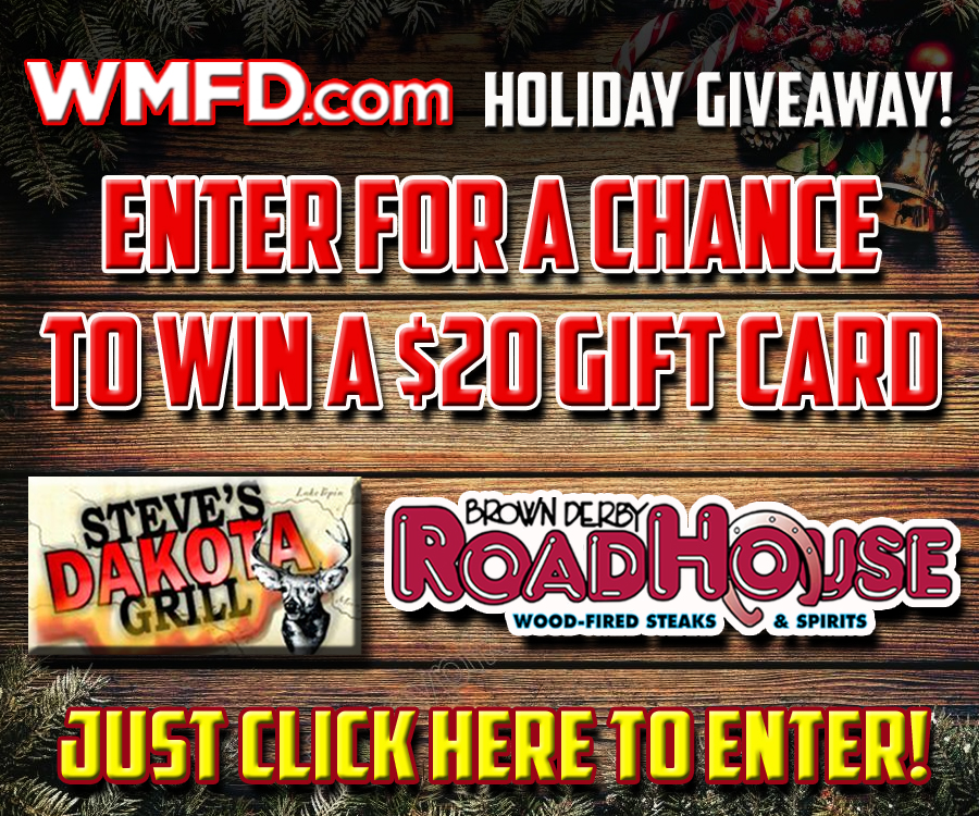 WMFD.com $20 Holiday Give Away
