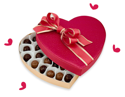 WIN A BOX OF CHOCOLATES!