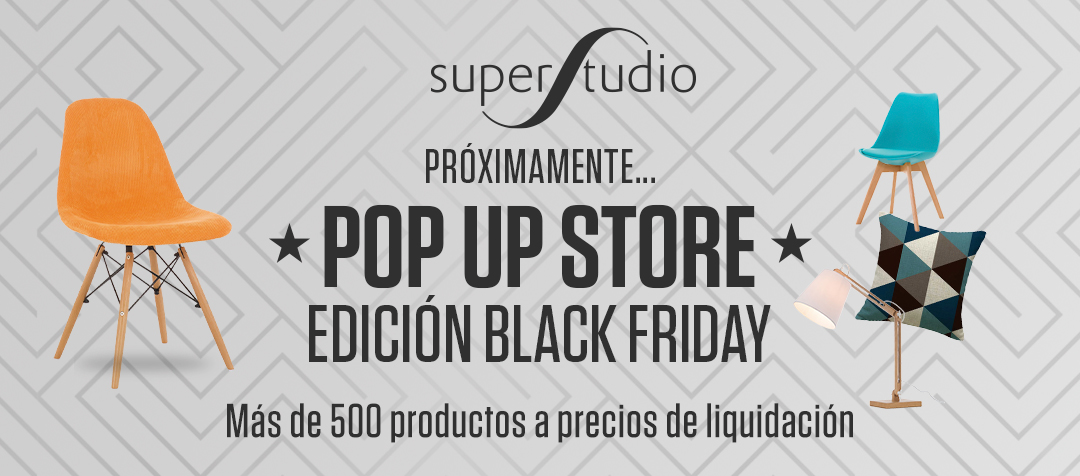 SuperStudio Pop-Up Store. Edic. Black Friday.