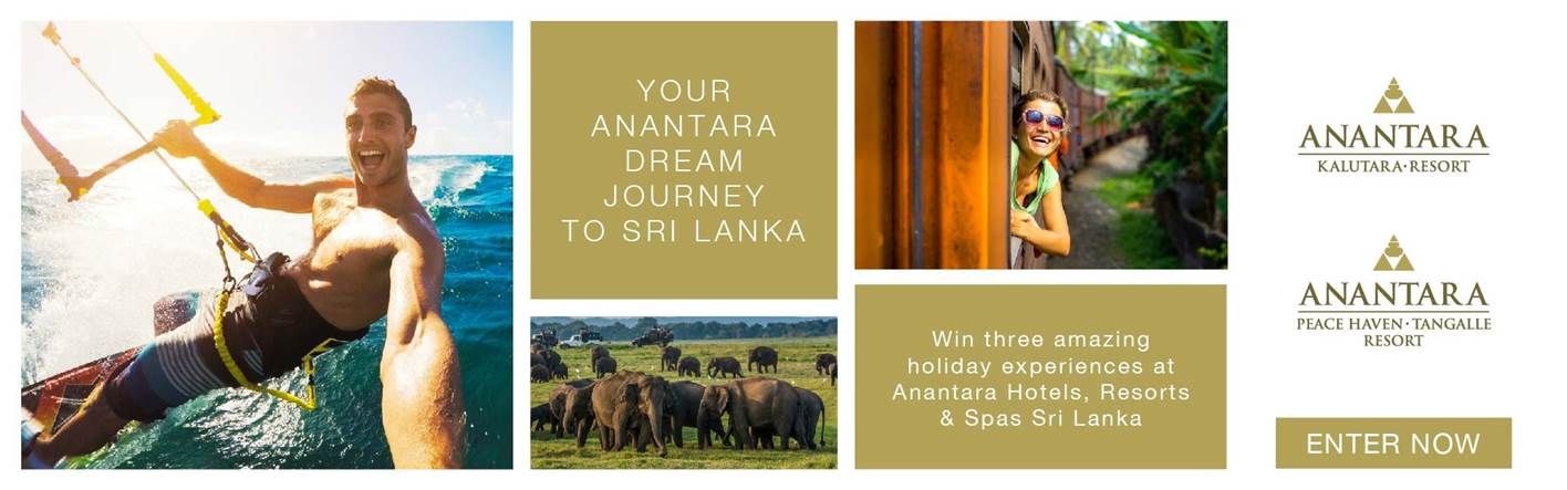Your Anantara Dream Journey to Sri Lanka